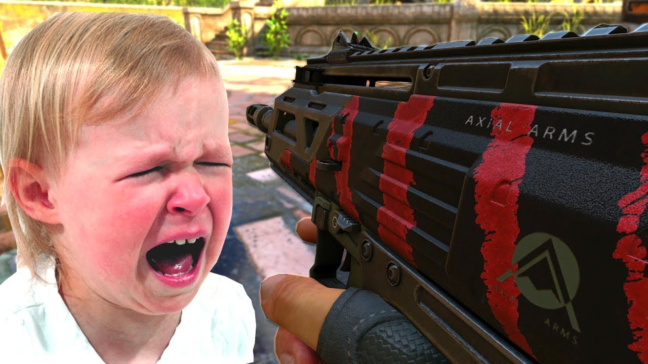 Angry Little Kid Cries On Black Ops 4 Youtube