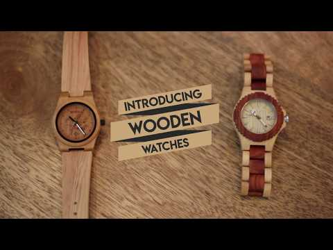 Handcrafted Wooden Wrist Watch For Women - YesNo.in
