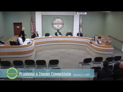 Planning & Zoning Commission - Jan 11, 2017