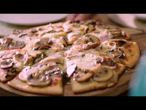 Testy Mushroom Pizza Recipe