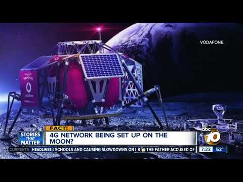 4G network on the moon?