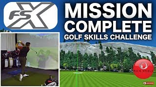 GOLF FSX SKILLS CHALLENGE - QUEST FOR 40 POINTS 😜