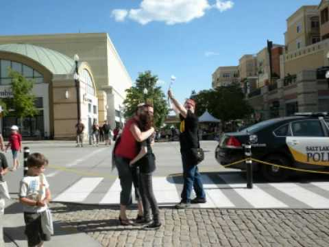 Free Hugs in Salt Lake City