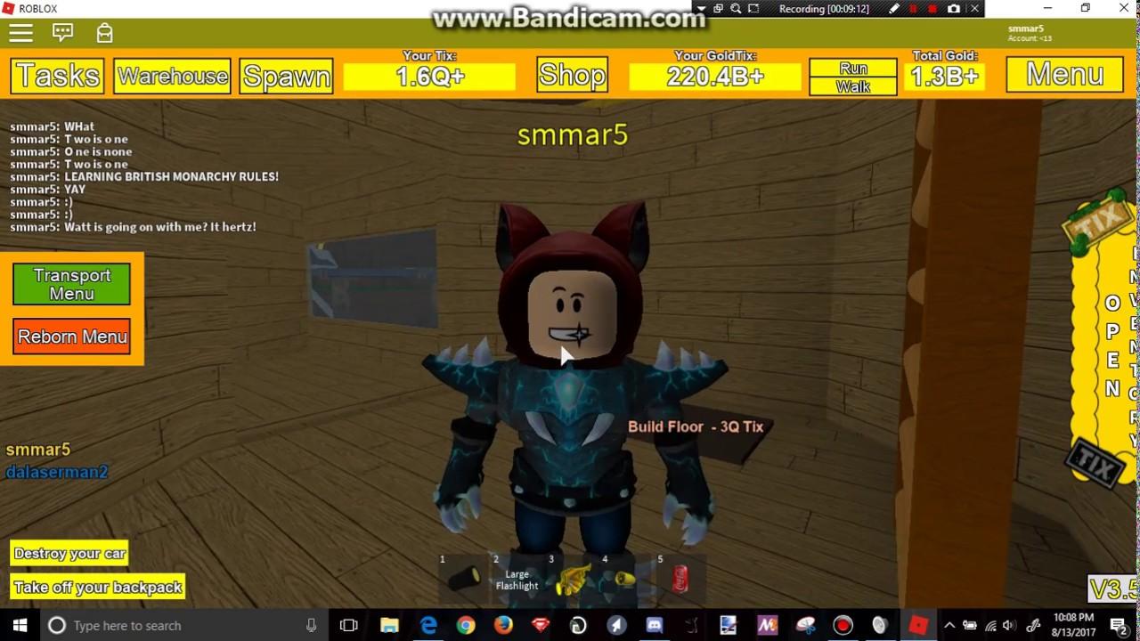 Roblox Tix Factory Tycoon Part 9 Reborn 3 Youtube