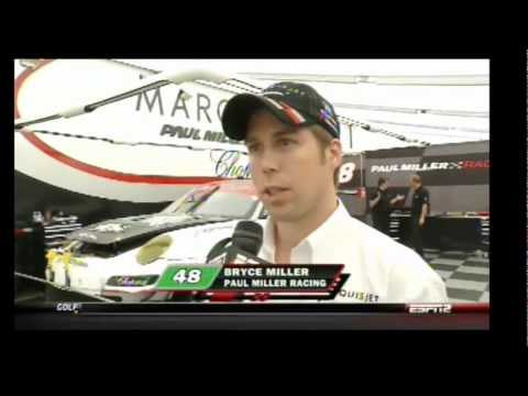 Paul Miller Racing Spot on ESPN2 at 2011 ALMS Mid-Ohio Race