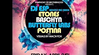 Symphony of Brotherhood presents: DJ ESP, baschyn, ETones & more