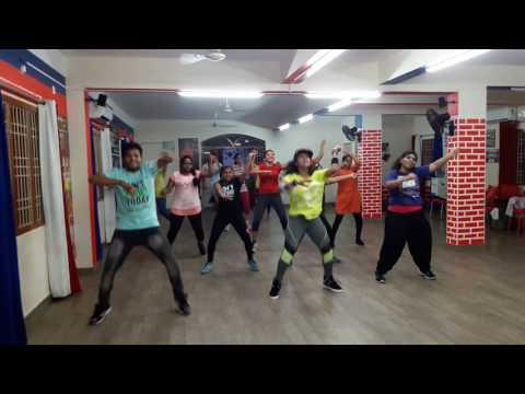 Malhari || Bajirao Mastani || Dance Fitness Routine - Madhu Deepika Meghana