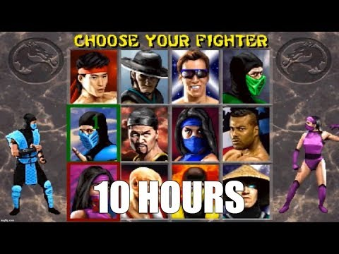 Mortal Kombat 2 (Arcade) - Character Select Theme Extended (10 Hours)