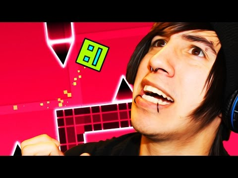 DOING THE IMPOSSIBLE! - Geometry Dash Gameplay (Can't Let Go)