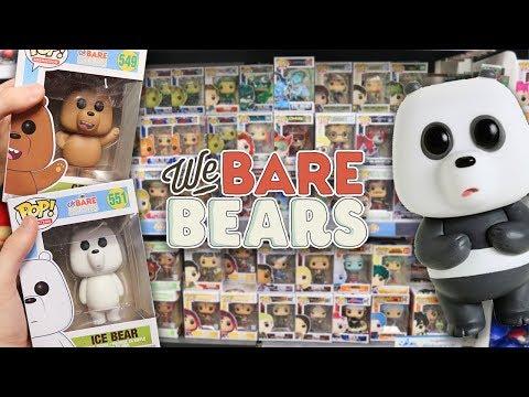 We Bare Bears Funko Pop Hunting!