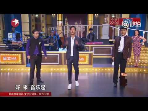 "Hangeng ""Golden Night"" dance"