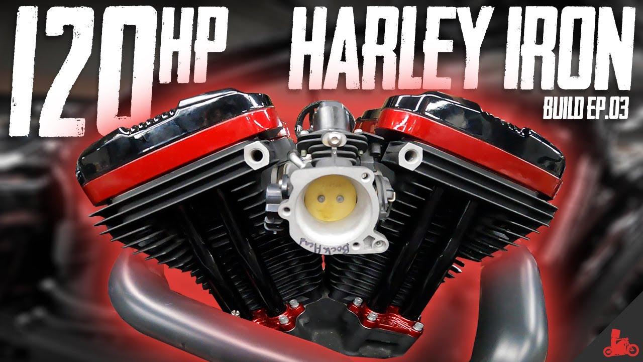 Harley Iron 883 to 1275 Build (Ep. 03)