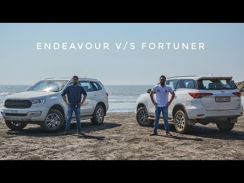 Ford Endeavour v/s Toyota Fortuner: Comparison & Review