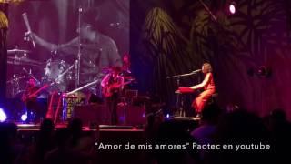 """""""Amor de mis amores"""" en vivo Natalia Lafourcade Lima Perú 2017"""