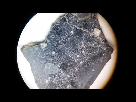 Marte meteorite . BLACK BEAUTY