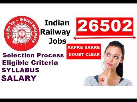 Railway recruitment 2018 | Technicians | RRB ALP 2018 Notification | SYLLABUS | Notification Out