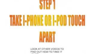 iPhone Water Damage Sensor Replacement