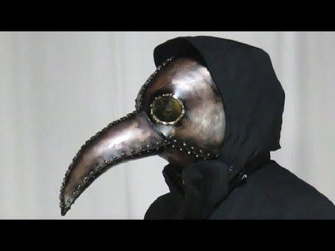 ペストマスクの作り方[ペスト医師] [スチームパンク] - Plague doctor mask tutorial
