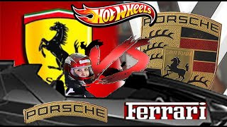 Hot Wheels Ferrari vs Porsche quien es mejor en el mundo del automovilismo