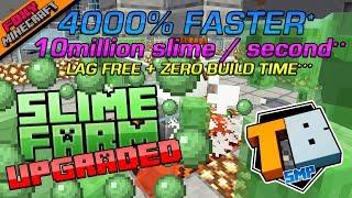 SLIME FARM UPGRADE | Truly Bedrock [1-26] | Minecraft Bedrock Edition SMP (MCBE)