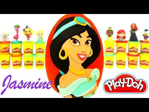 Prenses Yasemin Sürpriz Yumurta Oyun Hamuru  Disney Prensesleri Oyuncak