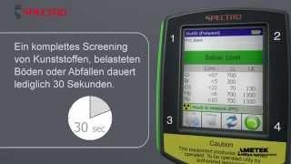 SPECTRO xSORT – Schnell und präzise