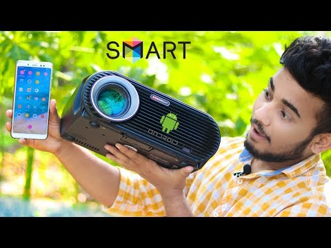 ANDROID SMART LED PROJECTOR REVIEW ▶ You Can Buy in Online Store