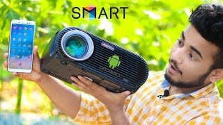 ANDROID SMART LED PROJECTOR REVIEW You Can Buy in Online Store