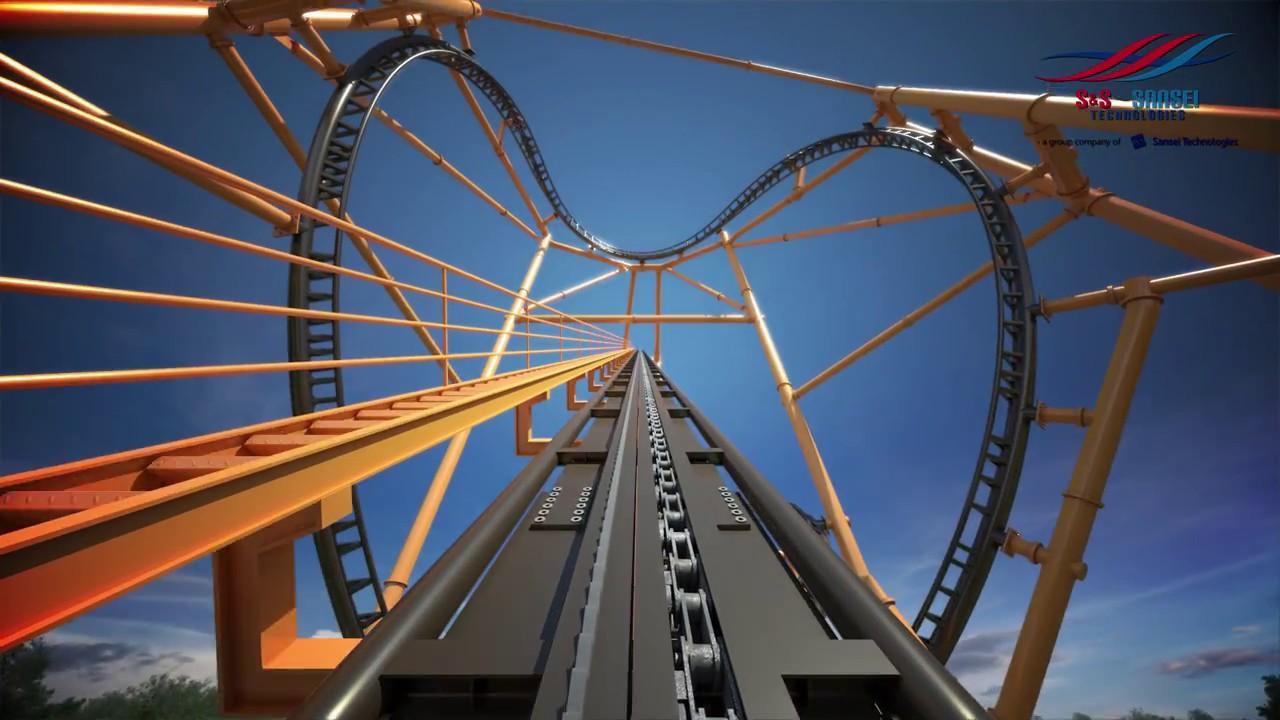 Kennywood Steel Curtain Roller Coaster NEW POV