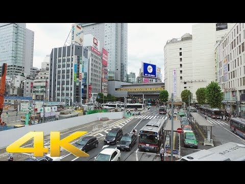 Shibuya to Daikanyama on foot - Long Take【東京・渋谷/代官山】 4K