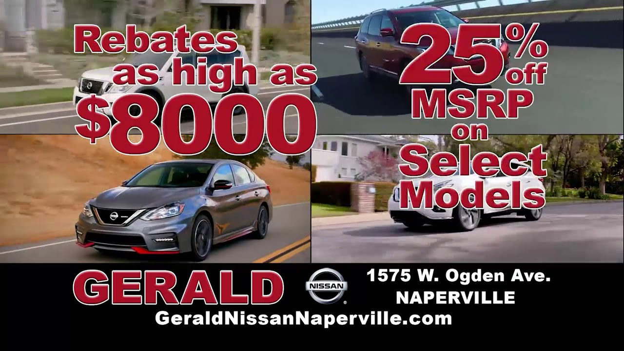 Gerald Nissan Naperville English