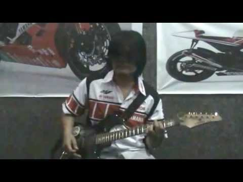Power Slaves - Impian (guitar chord & solo cover)
