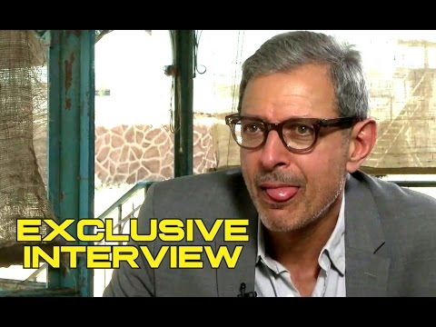 Jeff Goldblum's Hilarious Exclusive Interview for INDEPENDENCE DAY: RESURGENCE