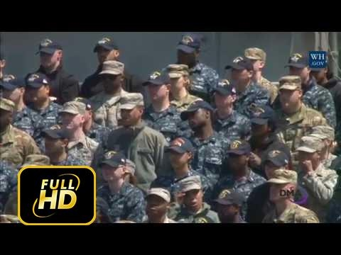 [Trump News]VP Pence Makes Remarks to US Service Members Abroad the USS Ronald Reagan