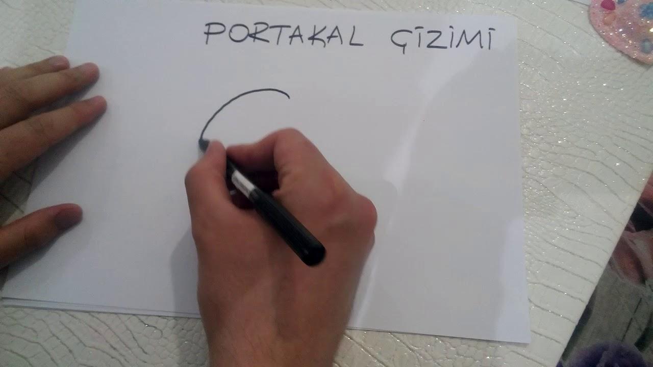 Portakal Cizimi Orange Drawing Youtube