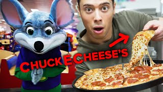 How Chuck E. Cheese's Pizza Is ACTUALLY Made