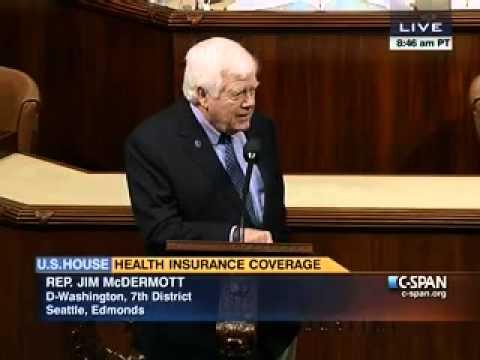"""Jim McDermott: """"I haven"""
