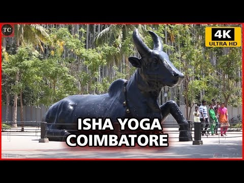 Inside View of Isha Yoga Center, Velliangiri Foothills, Coimbatore - 4K Walk Through Video