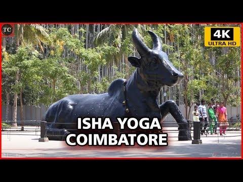 Inside View of Isha Yoga Center, Velliangiri Foothills, Coimbatore - 4K Walk Through Video