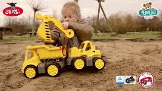 Traktor za otroke Power BIG z nakladalnikom in pri