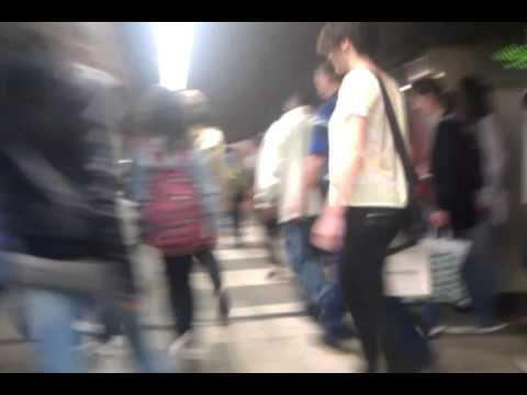 Barcelona sants station train & underground