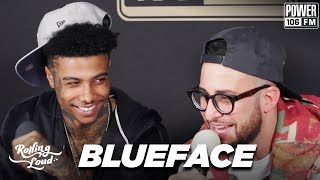 """Blueface On Power 106 """"Studio"""" Premiere + Ice Cube, Drake, & Meek Mill Co-Signs"""
