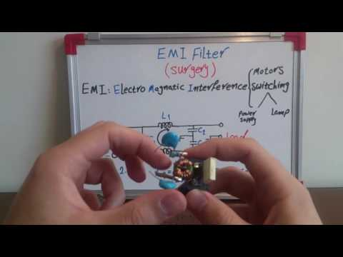 What's EMI (Electro Magnetic Interference) Filter? we open one of them to find out the answer