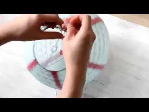 DIY hot air balloon lantern