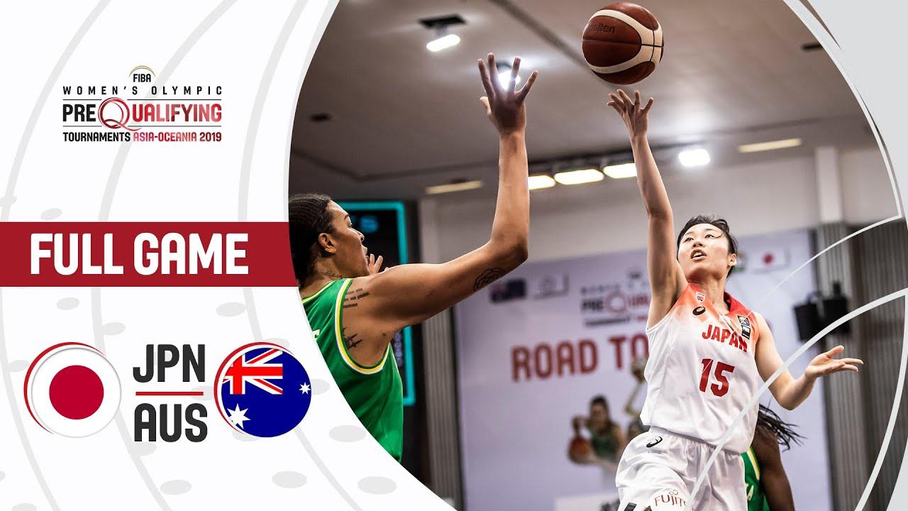 Japan v Australia - Full Game - FIBA Women's Olympic Pre