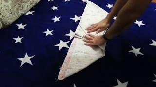 Как сделать подгузник из пеленки, своими руками!