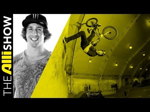 Scotty Cranmer Alli Show BMX At Home In New Jersey