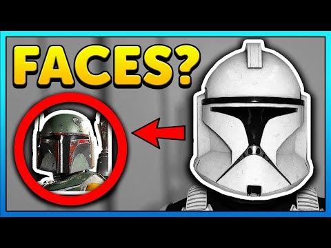 UNDER Clone, Boba, Kylo, Vader HELMETS - Star Wars Battlefront 2