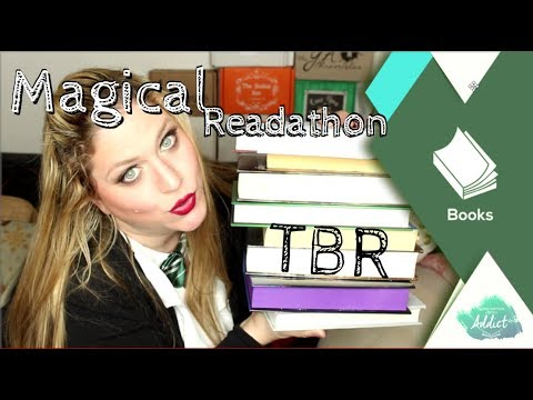 O.W.L. Magical Readathon TBR - maybe a bit too ambitious?