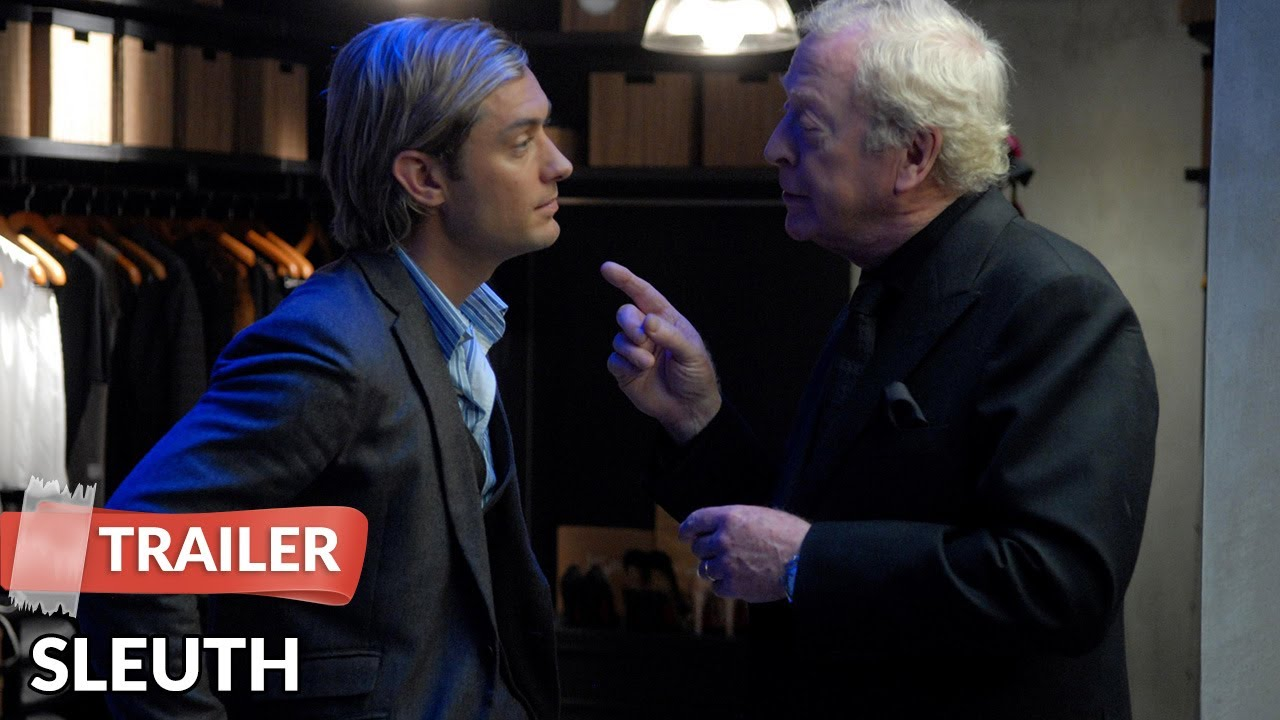 8218960393 Sleuth 2007 Trailer HD | Michael Caine | Jude Law - YouTube